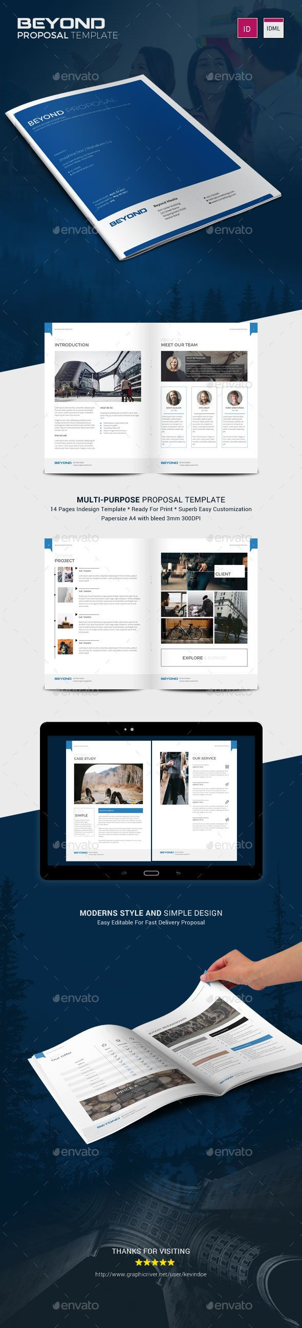 Buy Beyond Proposal by kevindoe on GraphicRiver