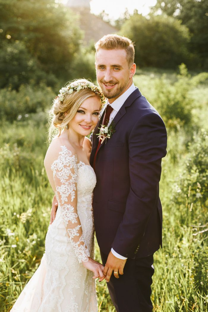 Rachel and Jordan's wedding at The Slit Barn in Cambridge, Ontario, was as colorful as it was heartfelt.