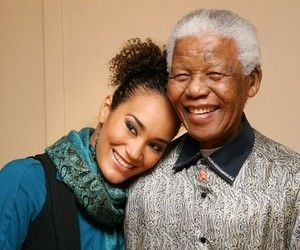 Celebs with Madiba | Jo Ann Strauss