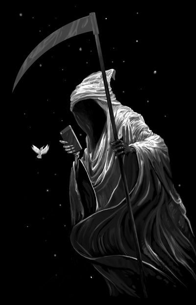 "Grim Reaper:  #Grim #Reaper ~ ""Night Mode,"" by Anhing."