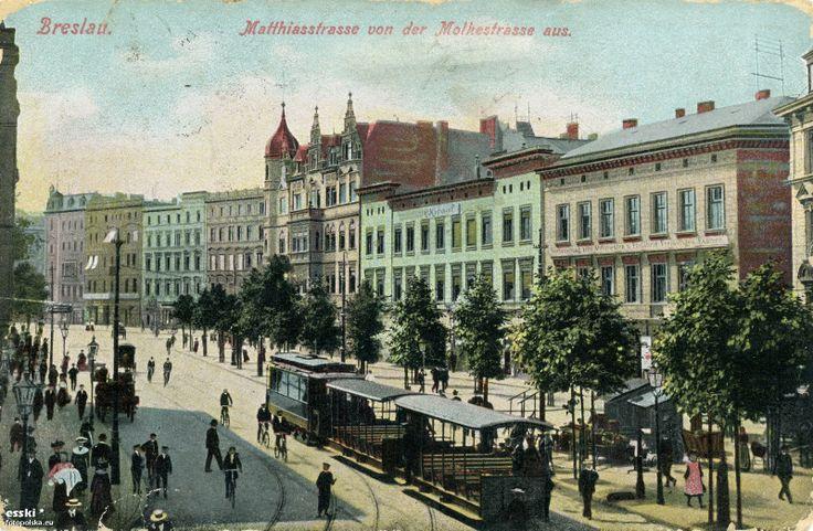1916 , Ulica Drobnera Bolesława, Matthiasstrasse.