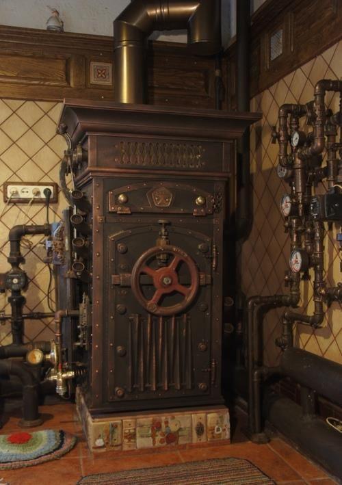 9 best images about soviet steampunk boiler on pinterest for Steampunk kitchen accessories