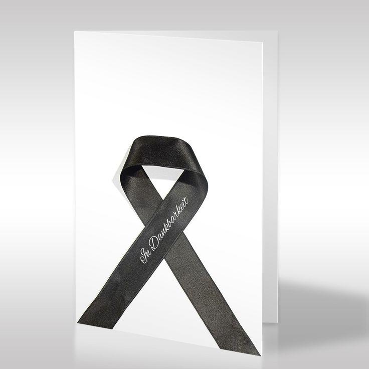 Mit unserer Dankeskarte können Sie Ihren Gästen Ihre Wertschätzung zum Ausdruck bringen. https://www.design-trauerkarten.de/produkt/band-der-ewigkeit-2/