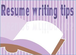quick and easy resume writing tips - Resume Hints And Tips