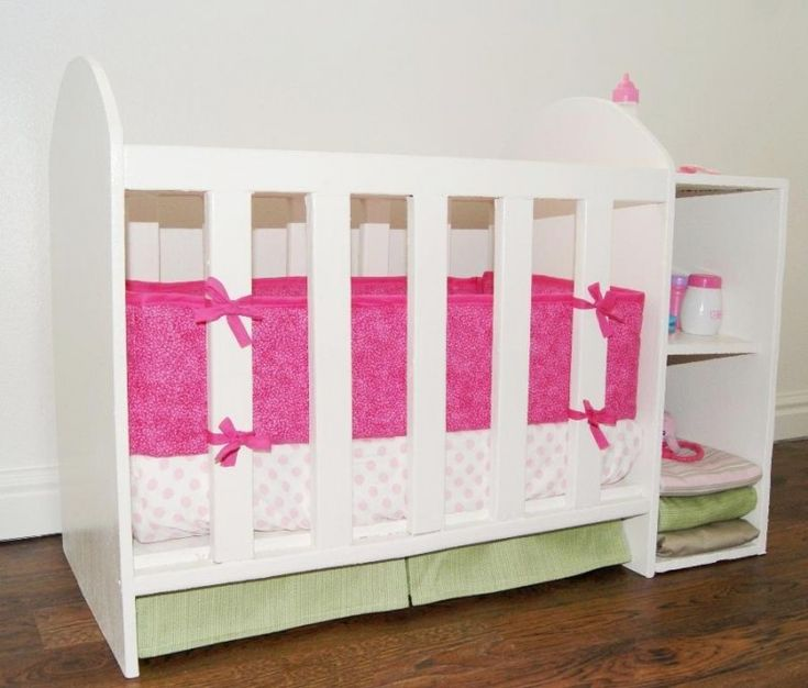 Build Your Own Baby Doll Crib Woodworking Projects Amp Plans