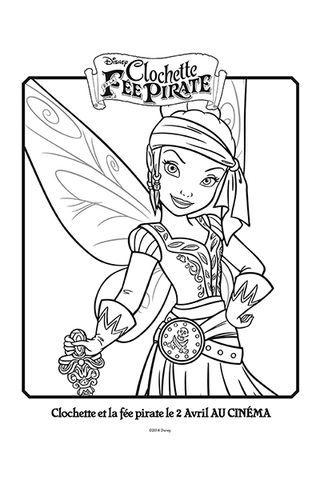 Coloriage Iridessa En Pirate Coloring Pinterest Coloriage