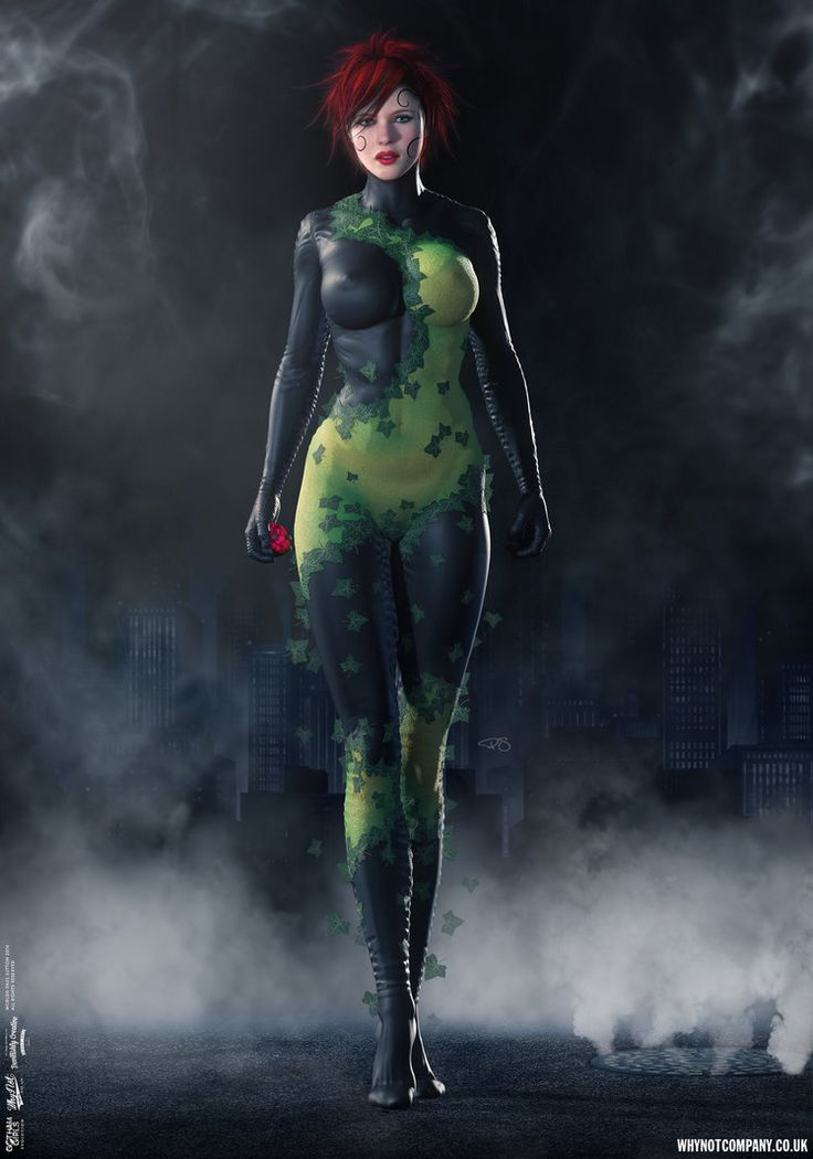 Poison Ivy, Gotham Girls Comic Series, Evolution by DevilishlyCreative.deviantart.com on @DeviantArt