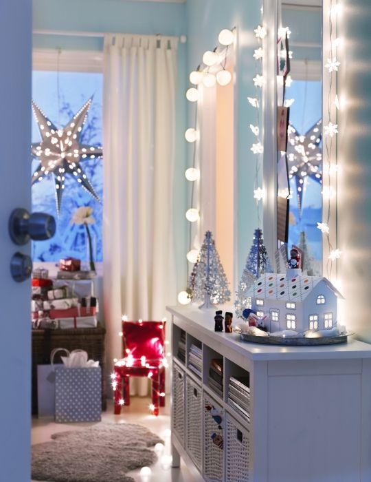 Ikea String Lights Mesmerizing 79 Best Holiday Inspiration Images On Pinterest  Ikea Ikea Ikea Inspiration Design
