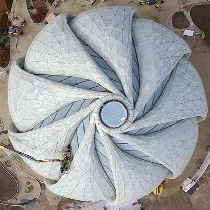Templo Bahai de Sudamérica, Peñalolen, Santiago, Chile