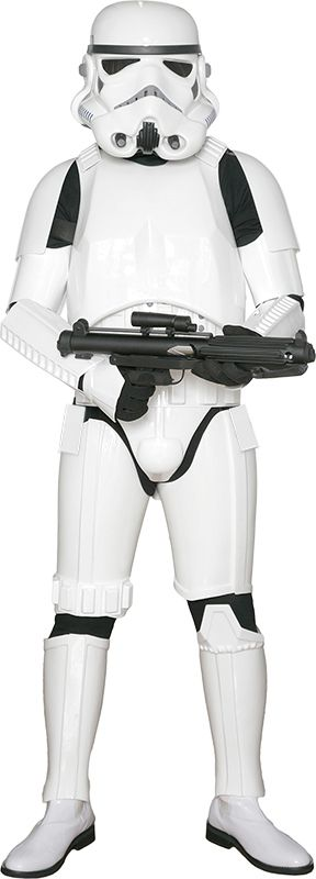 STAR WARS COSTUMES: : Star Wars Stormtrooper Costume Armor with Accessories and Ready to Wear - Original Replica - A New Hope - XL EXTENDED SIZE