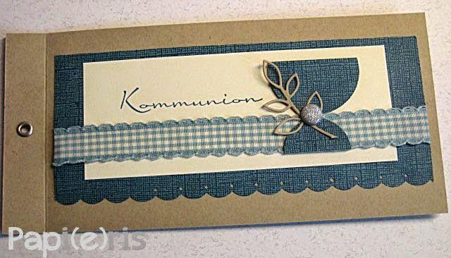kort konfirmation - card communion - Papi(e)ris