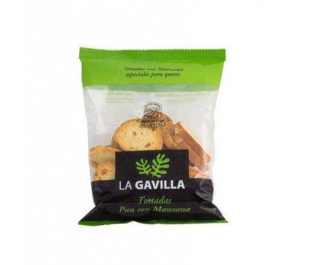 Tostas Pan con Manzana La Gavilla