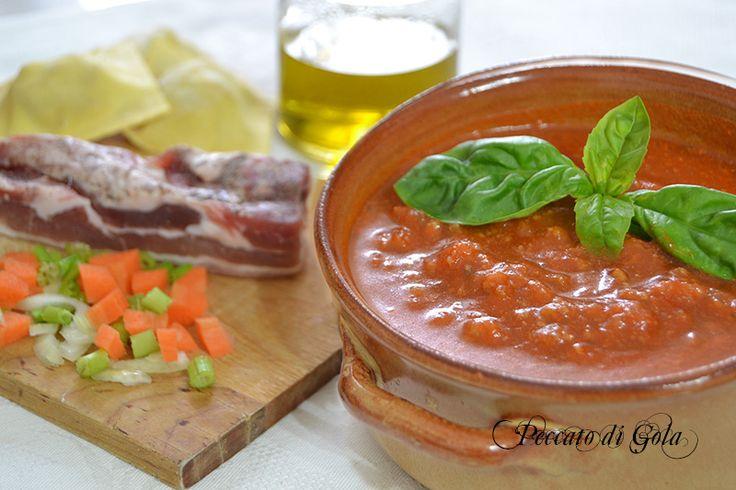 Ricetta originale del Ragù alla bolognese