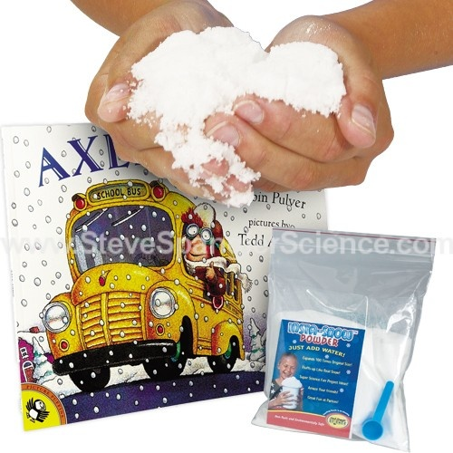 Axle Annie Instant Snow Kit | Instant Snow | Products | Steve Spangler Science