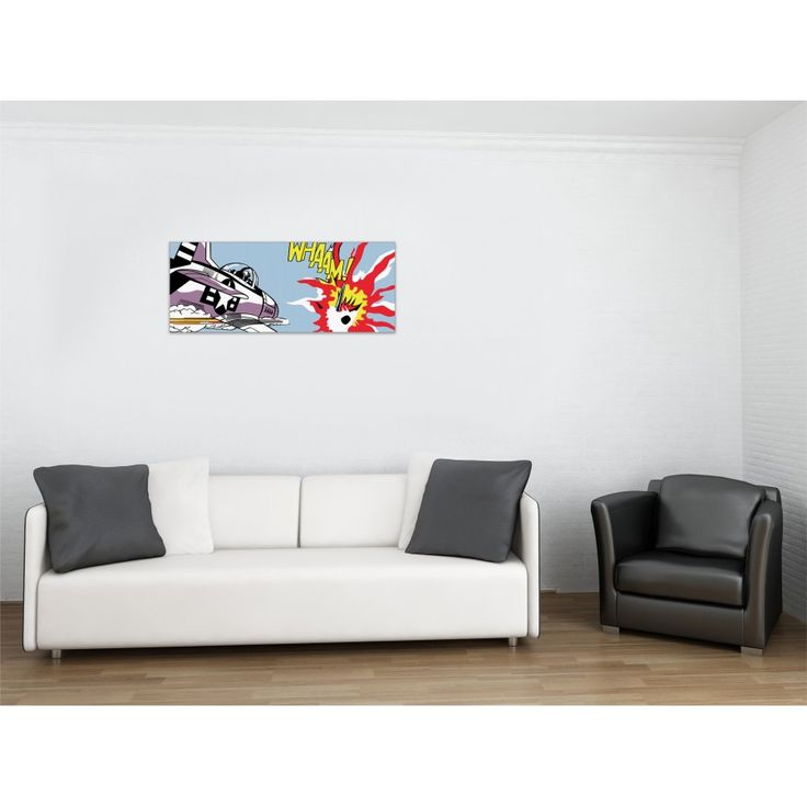 LICHTENSTEIN - Whaam! 1963 100x40 cm #artprints #interior #design #art #print #iloveart #followart #artist #fineart #artwit  Scopri Descrizione e Prezzo http://www.artopweb.com/autori/roy-lichtenstein/EC21690
