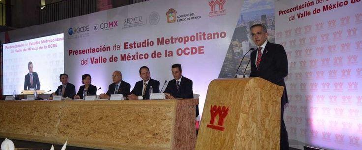 RECONOCE OCDE POLÍTICAS DEL GOBIERNO CDMX PARA ELEVAR LA CALIDAD DE VIDA EN EL VALLE DE MÉXICO