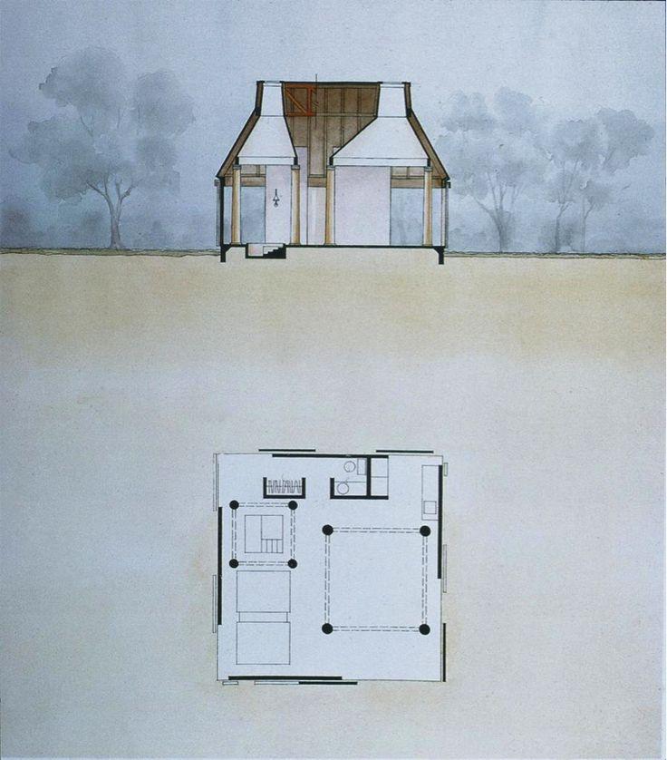 Charles Moore, Orinda House, Orinda, California, 1962-65