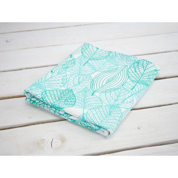 jersey fabric mint leaves leaf fabric jersey print jersey