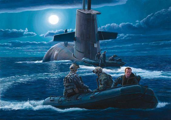 Submarine Art ~ BFD
