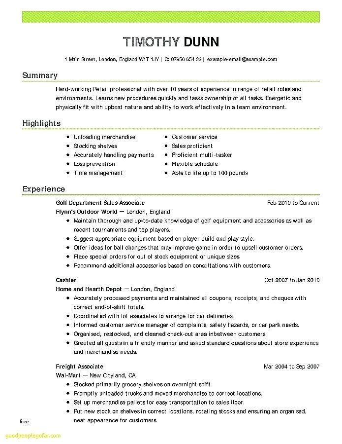 Proper Resume Template Images Fresh How To