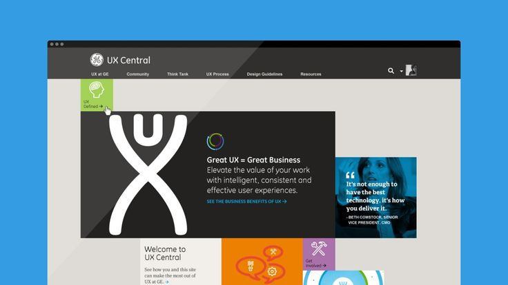 GE UX Centers of Excellence | frog