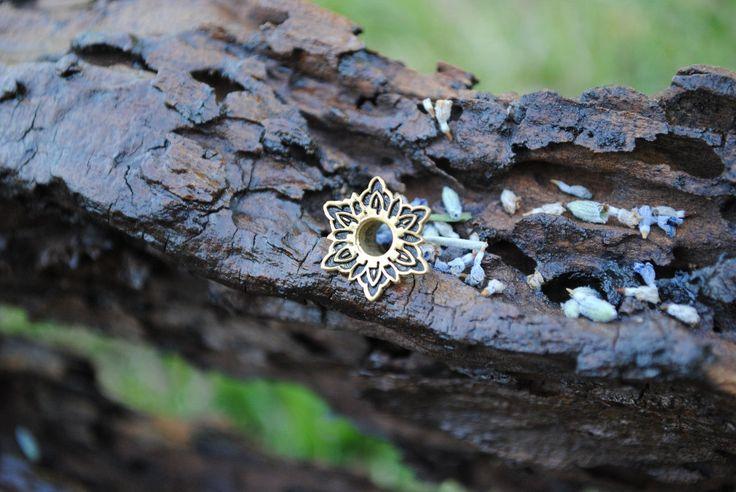 Full Lotus Ear Tunnels 5mm - Ear Plugs - Gold flesh tunnels - Scretched lobes - Sterling Silver tunnels - Gauge Jewelry - Piercing Jewelry by ForbiddenFruitJewel on Etsy https://www.etsy.com/listing/207126644/full-lotus-ear-tunnels-5mm-ear-plugs