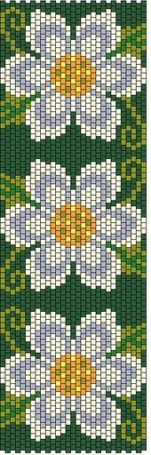 4 красивых браслета с цветами. Комментарии : LiveInternet - Российский Сервис Онлайн-Дневников