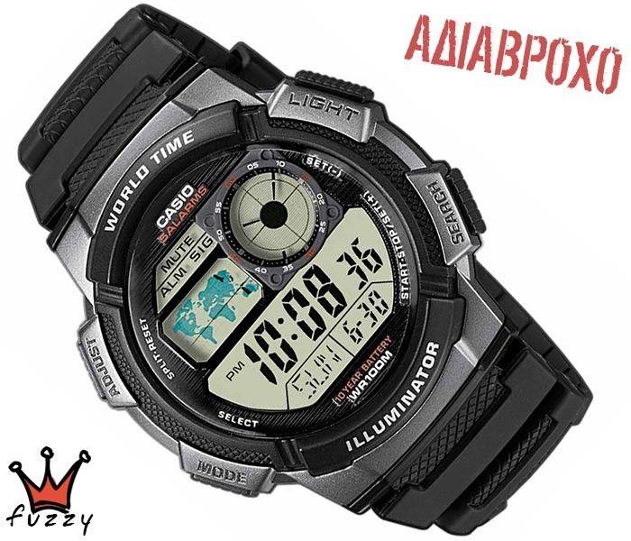 Ρολόι ανδρικό Casio (AE-1000W-1BVEF)