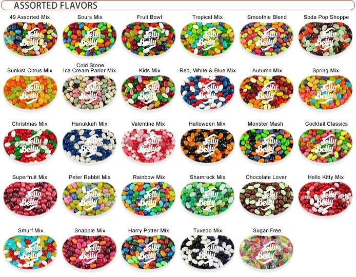 every flavor jelly beans guide