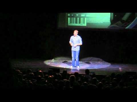 Number tricks: Matt Parker: Stand-up Maths Routine (about barcodes)