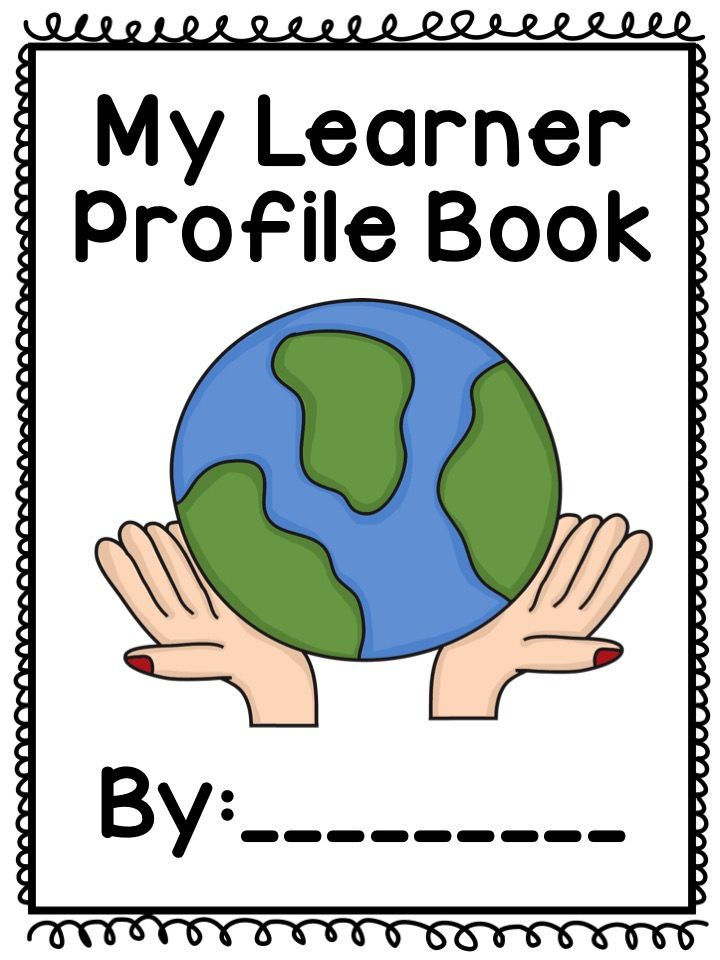 IB learner profile book for students. Book list included. Read and write about each learner profile trait.