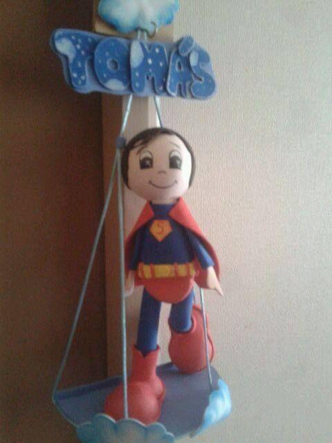 superman colgante