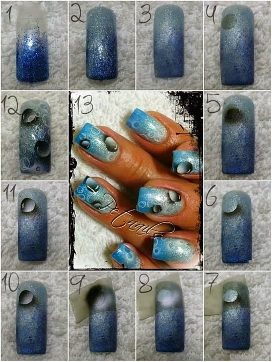 Orchid Nail: Tuto gouttes
