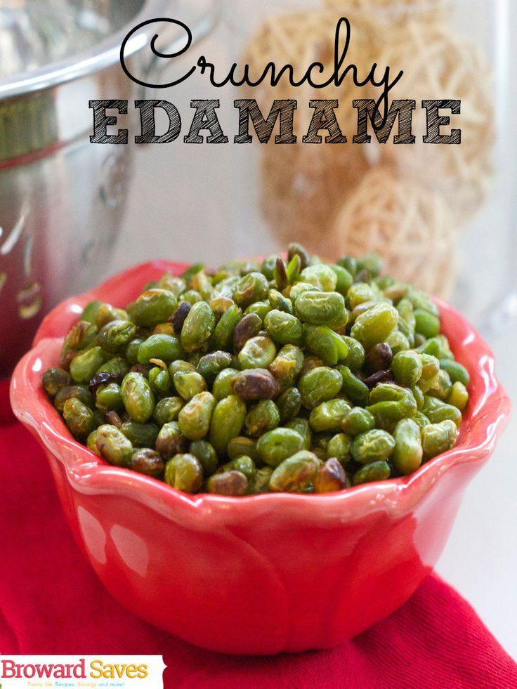 Crunchy Edamame Recipe Healthy SnacksHealthy