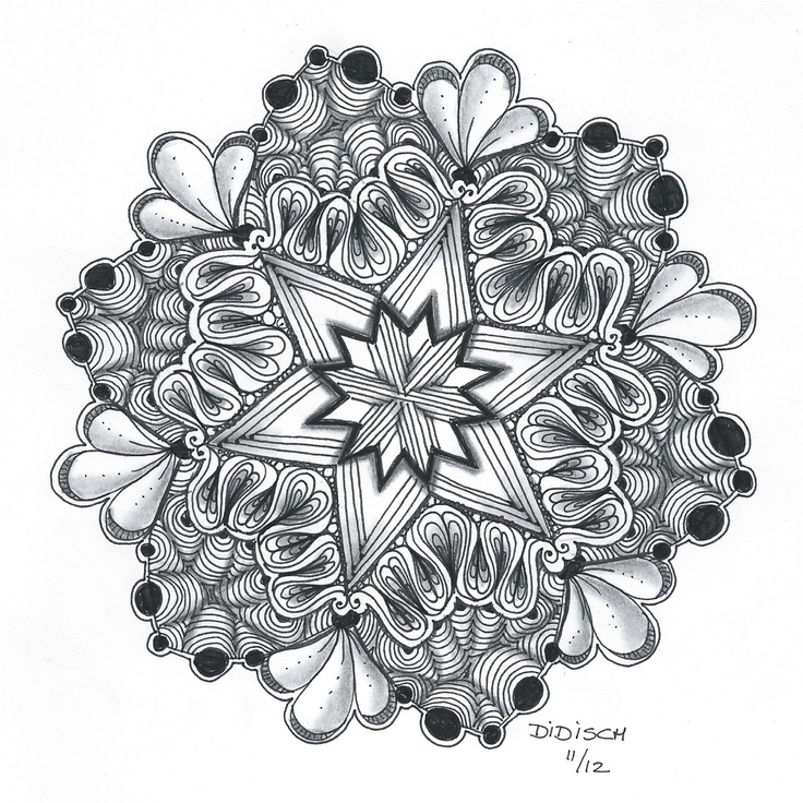 Zen Mandalas Coloring Book : 114 best zentangle mandalas images on pinterest