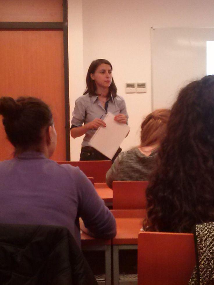 Raluca Băilescu, profesionistă în domeniul comunicării şi PR-ului, invitata din data de 12.11.2014, la Masterul de Social Media şi Marketing Online.