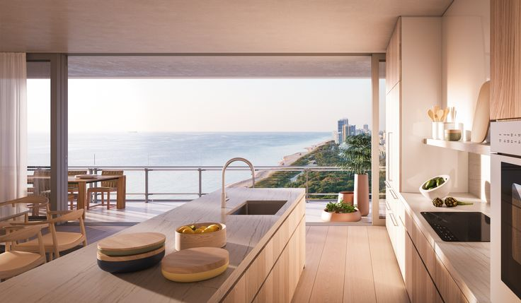 A Luxury Apartment in Renzo Piano's Miami Condo Building Could Be Your for $3 Million Photos | Architectural Digest