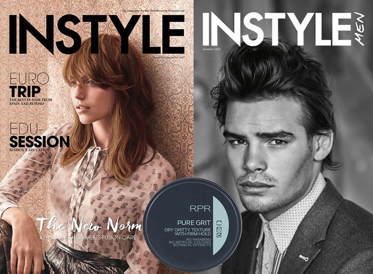 RPR Pure Grit - for the stylish man in your life.  As featured in Instyle Magazine Dec 2017 and Instyle Men Summer 2018.