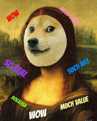 Wow such original. Very meme. Such doge. Wow. Doge