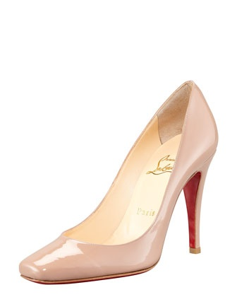 Particule Patent Pointed Pump by Christian Louboutin at Bergdorf Goodman.: Spring Summer 2013, Brilliant Beauty, Pump, Bergdorf Goodman, Christian Louboutin