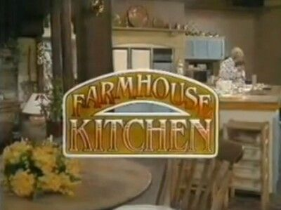 Farmhouse Kitchen. Popular afternoon cookery series from Yorkshire Television presented by Dorothy Sleightholme.