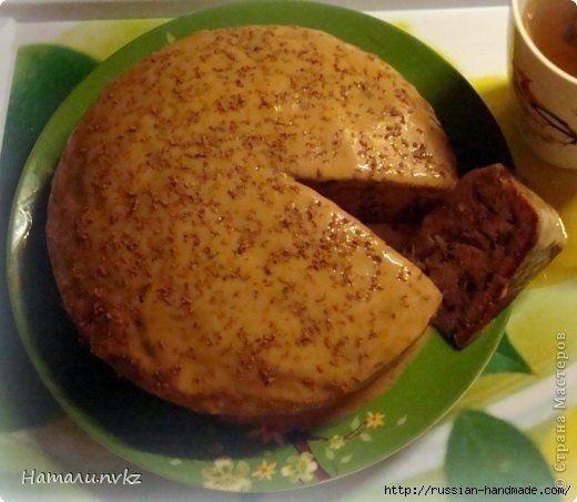 Ореховый пирог в мультиварке
