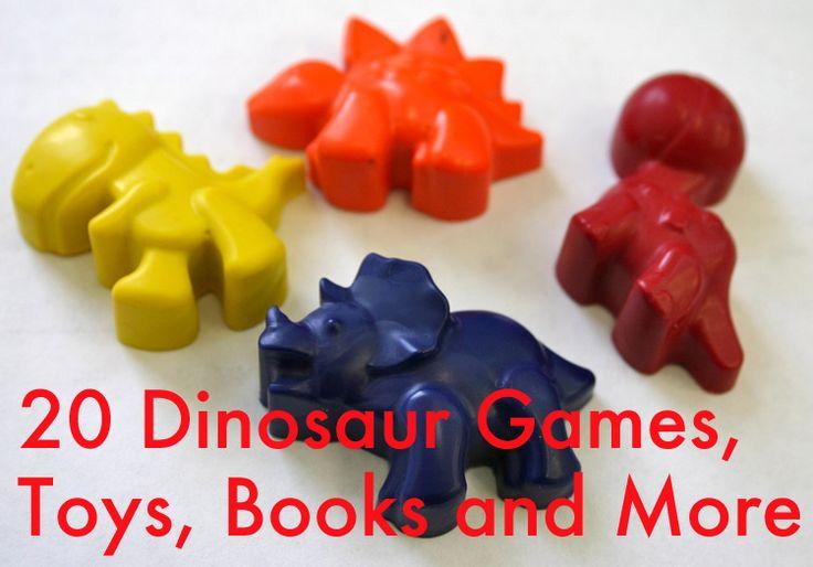20 Dinosaur Games, Toys & Books - Parenting.com