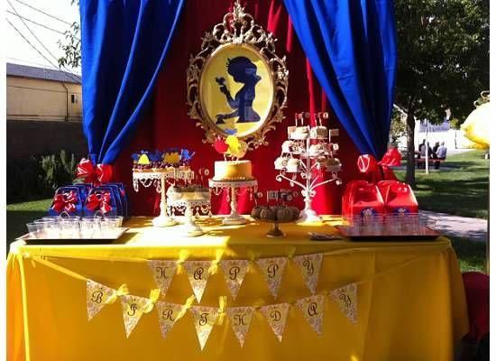 Snow White Party #snowwhite #party