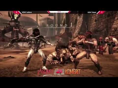 Mortal Kombat XL Mozart Combat Top 8