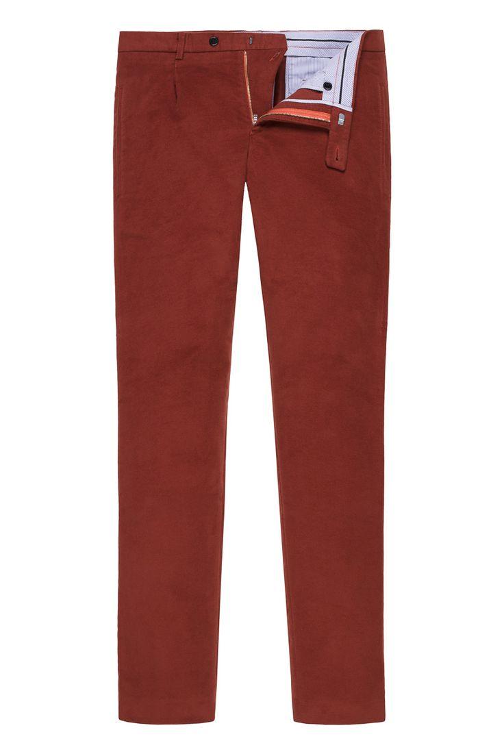 Amber Moleskin Trousers