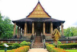 Templo Haw Pha Kaeo en Vientián