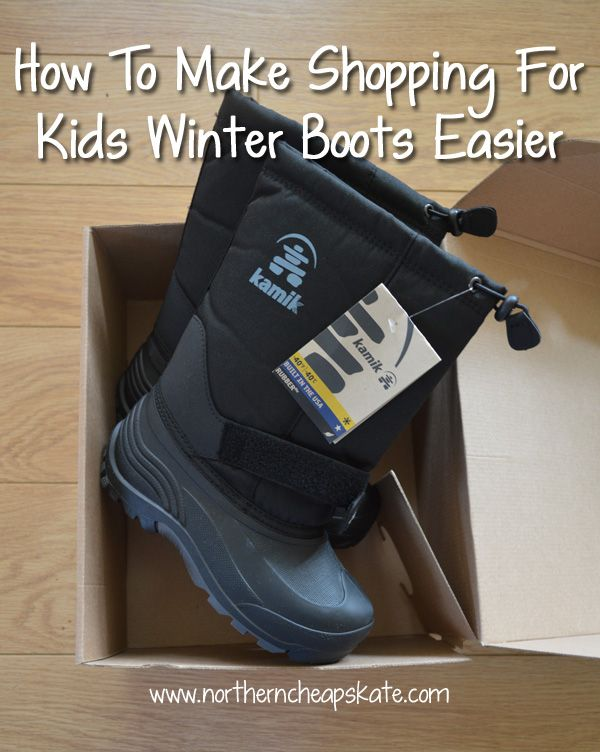 Make shopping for kids winter boots easier with these tips that will save you time and money.