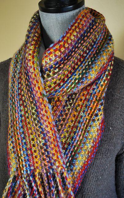 Ravelry: Malabrigo Linen Stitch Scarf pattern by Scott Rohr/rohrknits  $5.00 for pattern