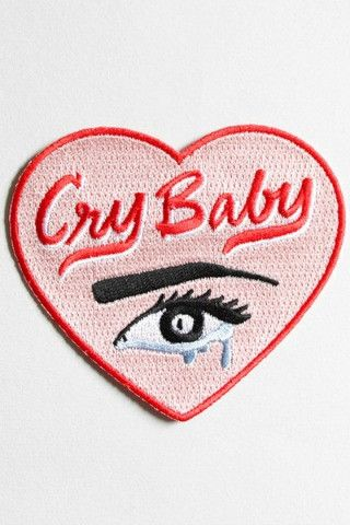 Hello Holiday · Cry Baby Heart #Patch #crybaby